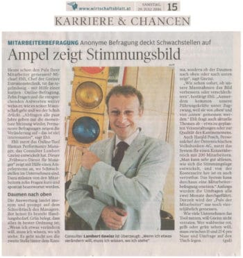 GNEISZ-ADVICE_PR-Clipping_hpm-im-Wirtschaftsblatt_060729